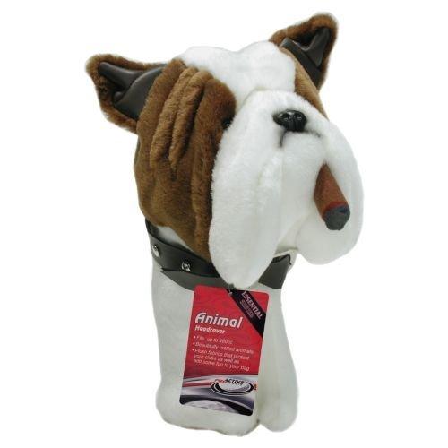 ProActive Zoo 460cc Bulldog Headcover, Outdoor Stuffs