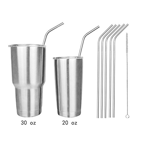 Stainless Reusable 10 5inch Drinking Cleaning