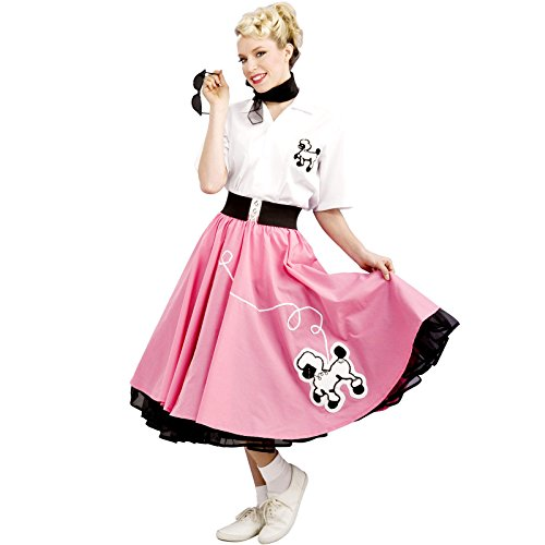 Rubie's 1950'S Poodle Skirt, Pink, Large