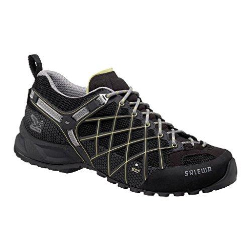 SALEWA WS WILDFIRE GTX 00-0000063304 - Zapatillas de montaña para mujer Negro (Schwarz (Black/Sulphur 0916))