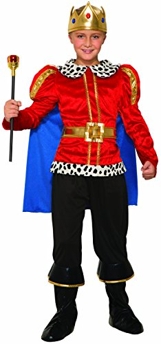 Forum Novelties Royal King Costume for Kids - Regal Costume Accessory with Cape, Shirt, and -