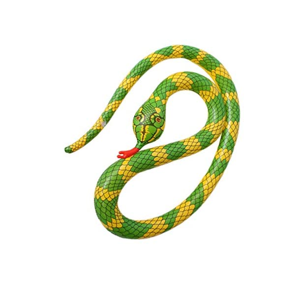TOYANDONA Serpente Gonfiabile Galleggiante Gonfiabile Giocattolo Palloncino Serpente Spaventoso per Giardino Fattoria… 7 spesavip
