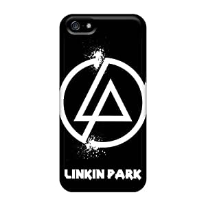 Shock Absorbent Hard Cell-phone Case For Apple Iphone 5/5s (rwY14386IWPb) Unique Design Realistic Linkin Park Pattern
