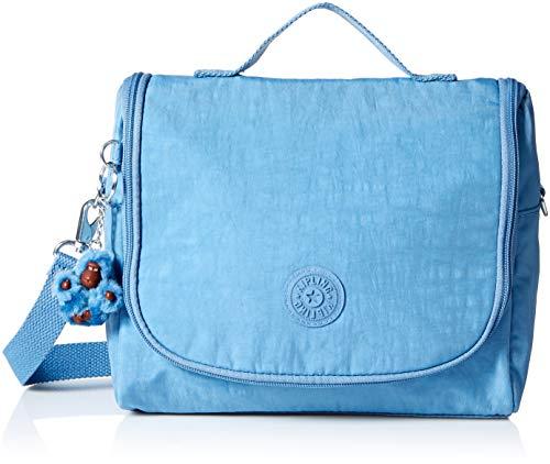 (Kipling Kichirou Solid Insulated Lunch Box, Dream Blue,)