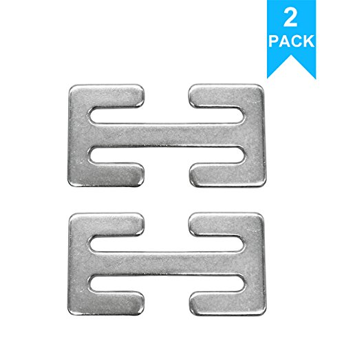Sungrace Metal Lock (Silver, 2 Pack)
