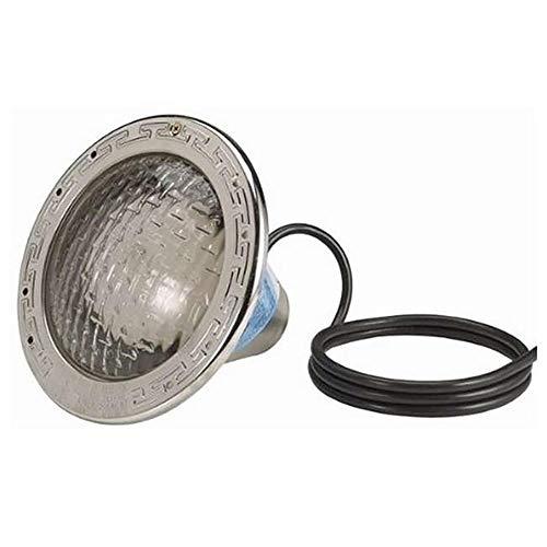 Pentair 78421100 Amerlite Underwater Incandescent Pool Light with Stainless Steel Face Ring, 120 Volt, 15 Foot Cord, 300 Watt