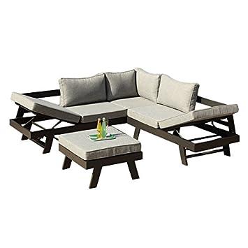 Ribelli Manrali Lounge En Aluminium En Aluminium Garniture De Salon
