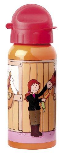 sigikid, Mädchen, Trinkflasche mit Drehverschluss 0,4 l, Pony Sue, Orange/Rot, 24489 Mädchen