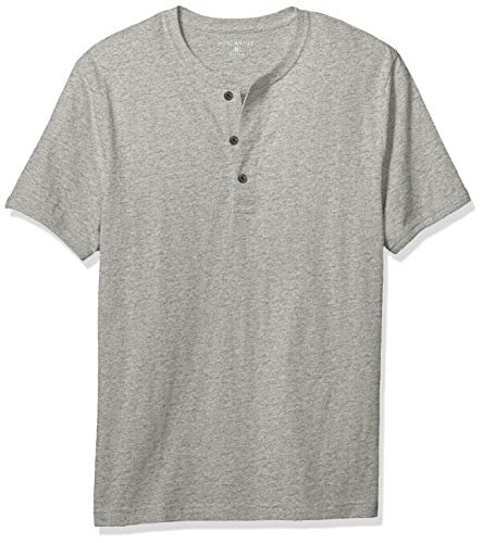 J.Crew Mercantile Men's Short-Sleeve Slub Cotton Henley, for sale  Delivered anywhere in USA