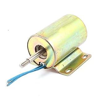 15 mm Carrera 2 kg Fuerza de vaivén del tipo electroimán del solenoide DC 110V