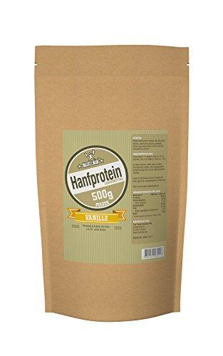 Maskelmän Hanfprotein - Vanille - 500g