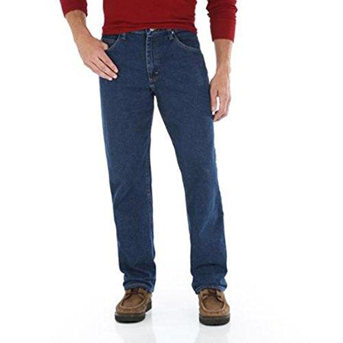 Jeans Fit Regular Genuine Wrangler (Genuine Wrangler Men's Relaxed Fit Jean (42x32, Storm Denim))