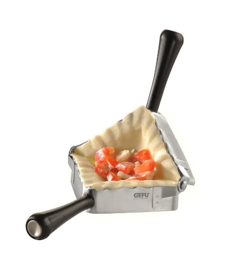GEFU Premium Foldable Square Ravioli Pasta Press (Jamie Oliver Kitchen)