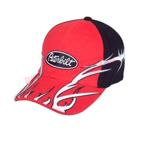 - Diesel Power Plus Peterbilt hat Cap Fitted Tribal Stripe Cap pete semi Truck Solid Back
