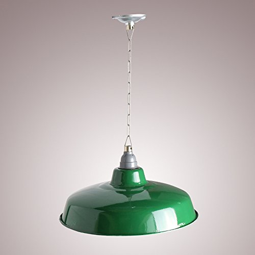 Vintage Industrial Enamel Pendant Lights in US - 4