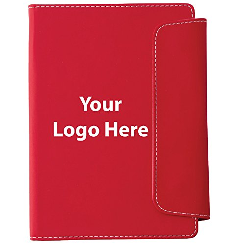 Horsens Notebook with Pen Stylus - 100 Quantity - $3.45 Each - PROMOTIONAL PRODUCT / BULK / BRANDED with YOUR LOGO / CUSTOMIZED by Sunrise Identity