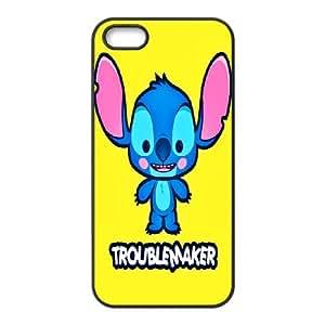 Personalized Creative Lilo and Stitch For iPhone 5, 5S LOSQ653114