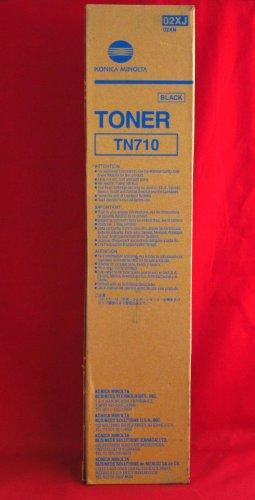 Konica Minolta TN710 ( Konica Minolta 02XJ ) Laser Toner Cartridge, Works for Bizhub 600, Bizhub 601, Bizhub 750, Bizhub (Konica Minolta Bizhub 600)