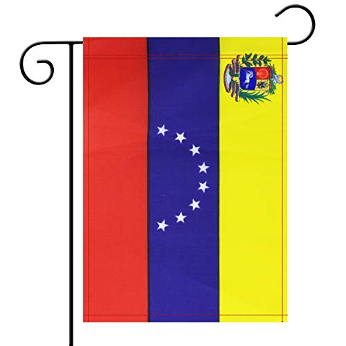 Garden Flag Venezuela Venezuelans Garden Flag,Garden Decoration Flag,Indoor and Outdoor Flags,Celebration Parade Flags,Anniversary Celebration, National Day,Double-Sided.