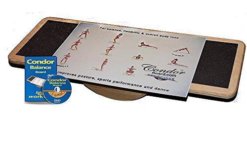 Condor Balance Board, exercise poster & DVD by CONDOR