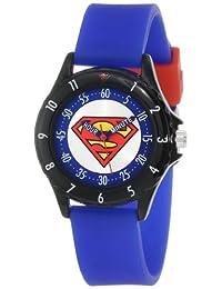 "Superman Boys' SUP9044 ""Time Teacher"" Superman Watch"