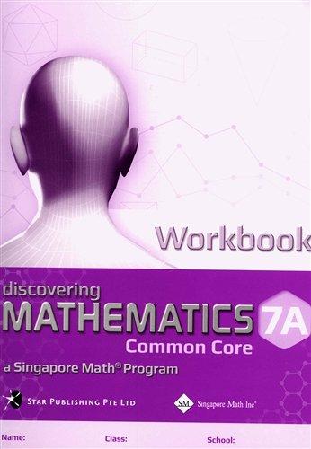 Workbook 7a (Discovering Mathematocs Common Core, 7a)