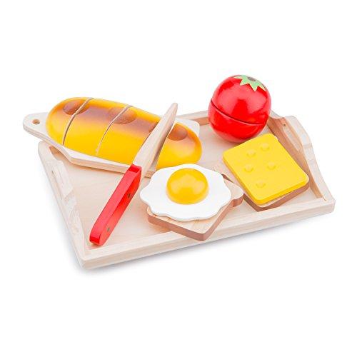 New Classic Toys - 10582 - Petit Déjeuner à Découper - 8 Pièces