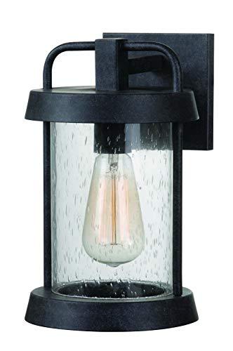 Graphite Finish Pendants - Kenroy Home 93400FGRPH Outdoor Lantern, Forged Graphite Finish