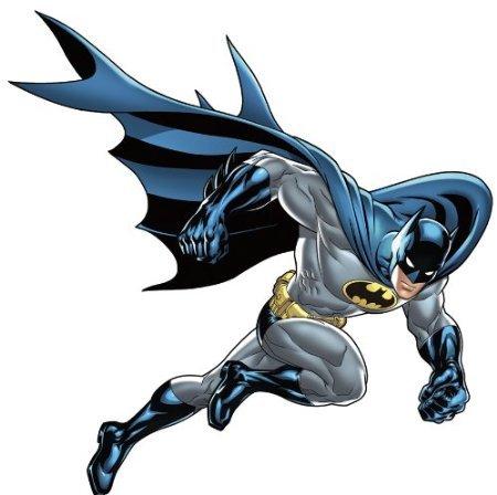 Batman Bold Justice Peel & Stick Giant Wall (Batman Bold Justice Peel)
