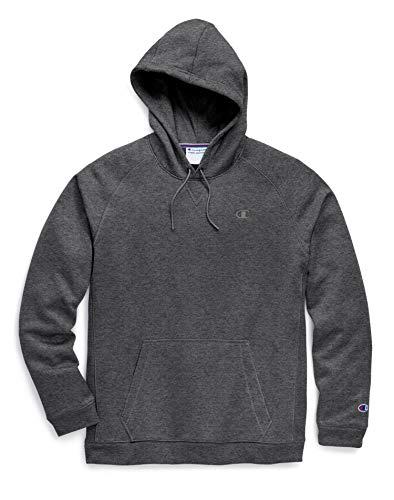 Logo Performance Fleece Pullovers - Champion Men's Stadium Fleece Pullover Hood C Logo