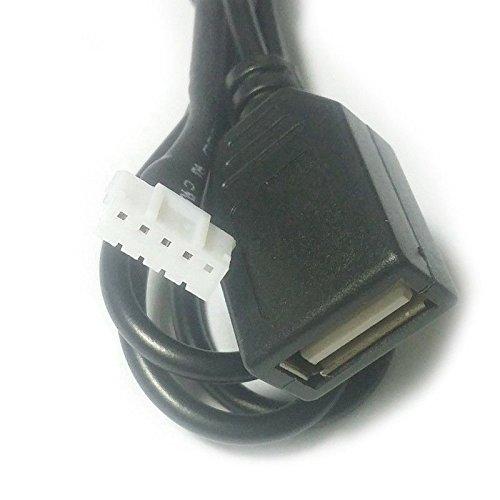 REFURBISHHOUSE Cable de Radio USB Linea con Radio Herramientas de eliminacion para 207 307 308 407 para C2 C3 C4 RD9 RD43 RD45