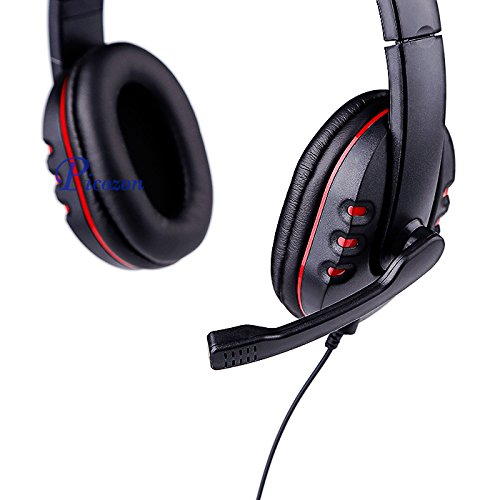 bluefire ps4 gaming headset headphone with microphone and led light for playstation 4. Black Bedroom Furniture Sets. Home Design Ideas