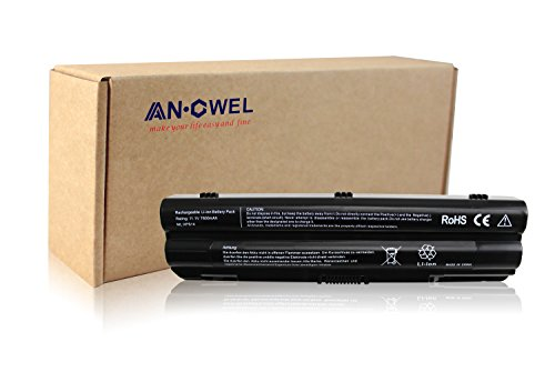Xps Li Ion Replacement Laptop (Angwel DELL XPS14 15 17 Series Li-ion Laptop Battery Replacement for Dell xps L401x L402x L501x L502x L701x L701x 3D L702x Series Laptop - 9cells 7800mA 1 Year)
