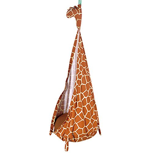 free love@Hot selling bag swings cotton canvas bag hammock swing children indoor and outdoor hammoc by FREELOVE (Image #4)