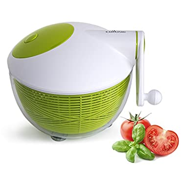 Culina Space Saving Salad Spinner, 5-Quart