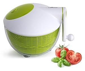 Culina Salatschleuder 25 cm Platzsparend, Langlebige robuste Konstruktion