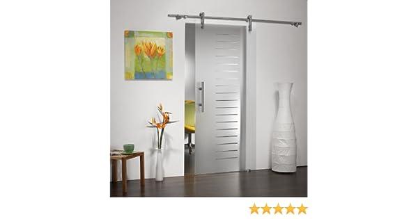 Puertas correderas de cristal ST 751 - 900 x 2050 x 8 mm DIN ...