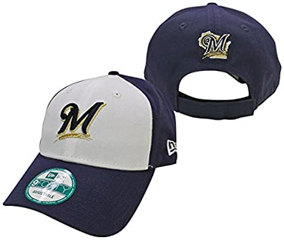 Milwaukee Brewers Two-Tone The League 9FORTY Adjustable Hat / Cap