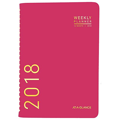 AT-A-GLANCE Weekly / Monthly Fashion Planner, January 2018 - December 2018, 4-7/8