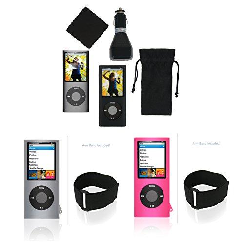 Multi-Case set for iPod Nano 4G