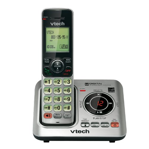 VTech CS6629 Dect 6.0 1-Handset Cordless Answering System by VTech