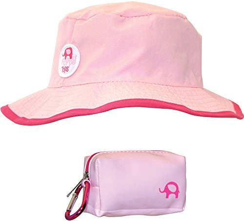 Price comparison product image Floppy Tops Ultra Compact Reversible Sun and Rain Hat (Pink / Magenta)