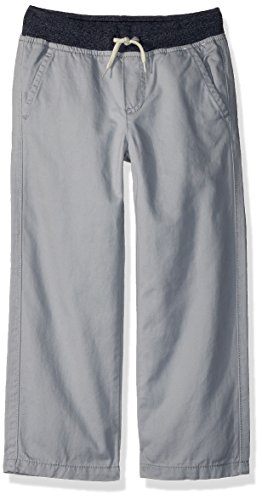 - Gymboree Toddler Boys' Pull on Chino Pant, Metropolitan Grey, 2T