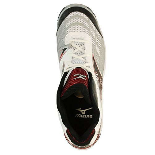 Mizuno - WAVE LIGHTNING RX MID - Color: White - Size: 11.5UK 5OL2lV