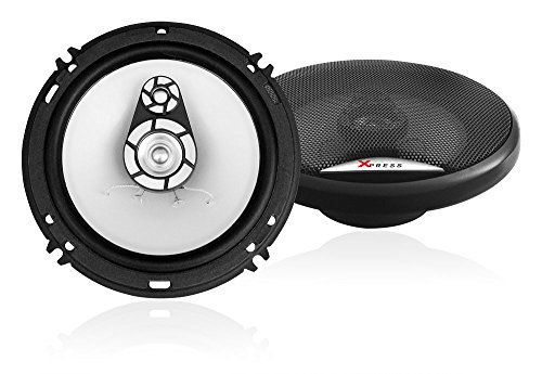 XP655 XO Vision XP655 6.5-Inch 3-Way Universal Premium Car Speaker, Set of 2
