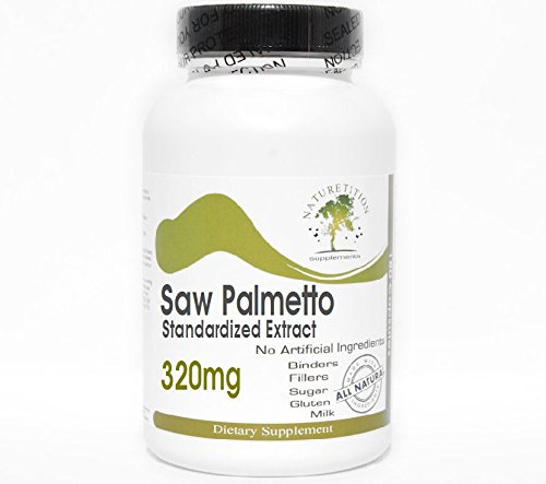 Saw Palmetto Standardized Extract 320mg ~ 200 Capsules - No Additives ~ Naturetition Supplements