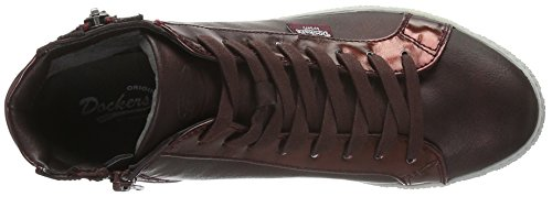 Dockers by Gerli 32ln213-686720 - Zapatillas Mujer Rojo - Rot (dunkelrot 720)