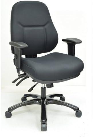 Everlast MultiShift Chair Black Dove Fabric/Black Frame