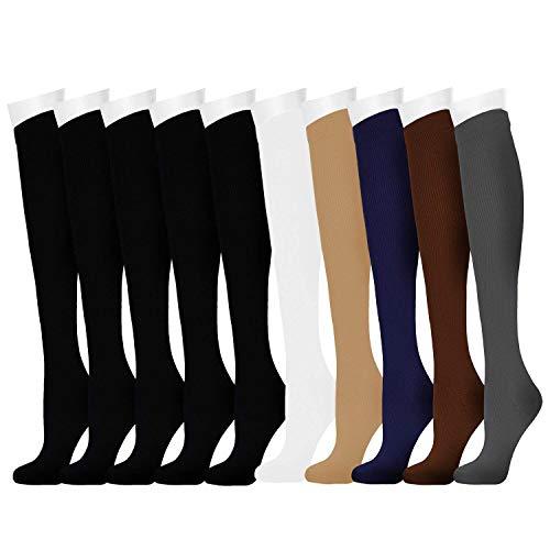 ODIJOO Compression Socks 15-20 mmHg for Men & Ladies-Running,Journey,Nurses – DiZiSports Store