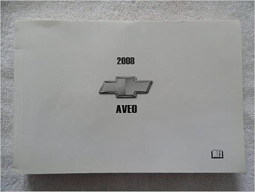 2008 chevy aveo manual